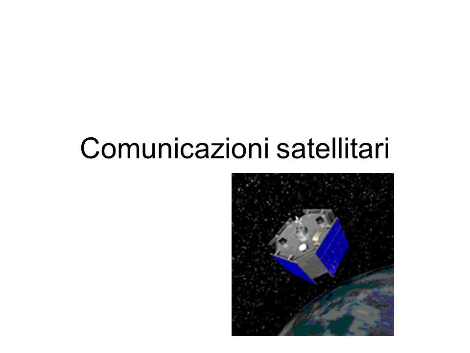 Utilizzo dei satelliti Le reti satellitari trovano applicazioni nel campo : delle telecomunicazioni (telefonia, televisione e telematica), nella navigazione marittima nel campo militare.