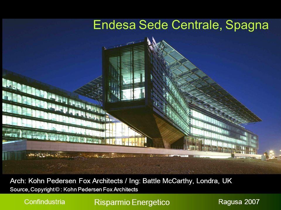 Confindustria Risparmio Energetico Ragusa 2007 Endesa, Spagna / Source, Copyright © : Battle McCarthy, Londra