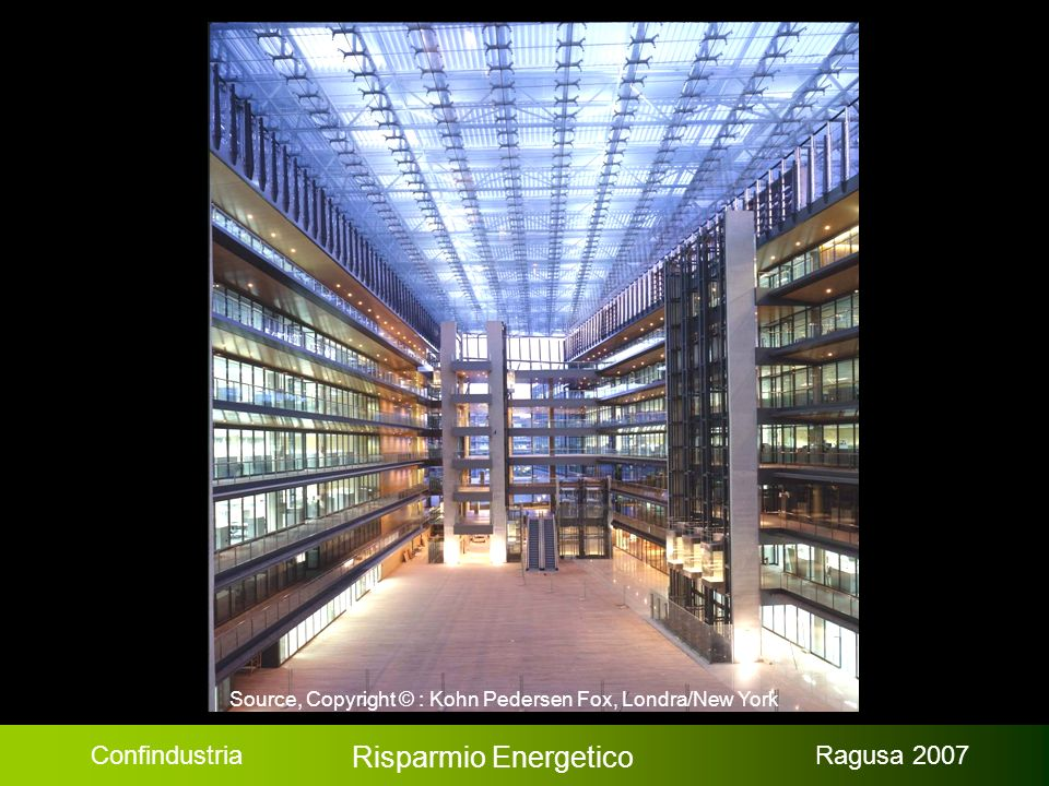 Confindustria Risparmio Energetico Ragusa 2007 Fotovoltaico: Efficienza / Costi / Previsioni (Fonte e Copyright © : Martin A.