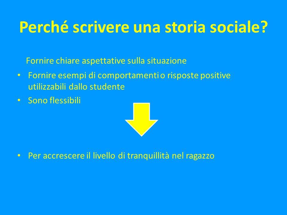 Come si scrive una storia sociale?