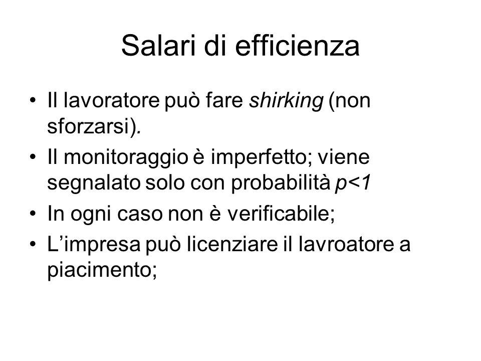 Salari di efficienza