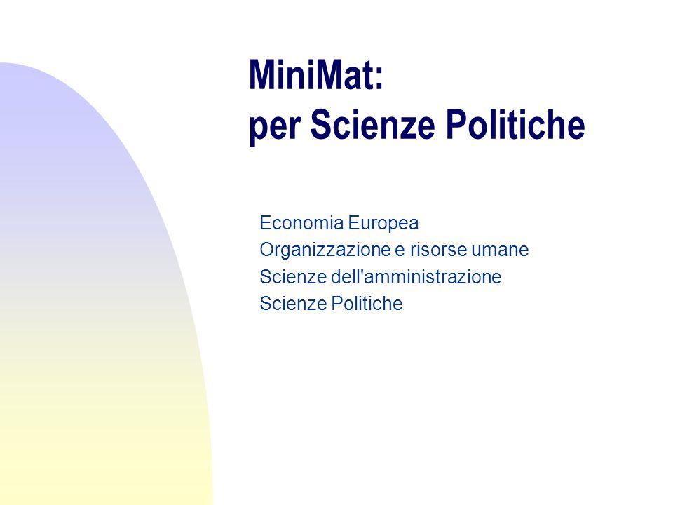 MiniMat: con chi.