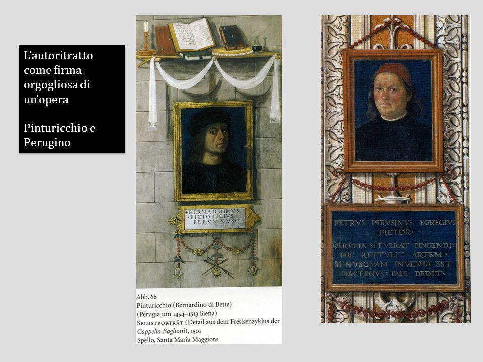 Lautoritratto come celebrazione della propria condizione: Nicolas Poussin Lautoritratto come celebrazione della propria condizione: Nicolas Poussin