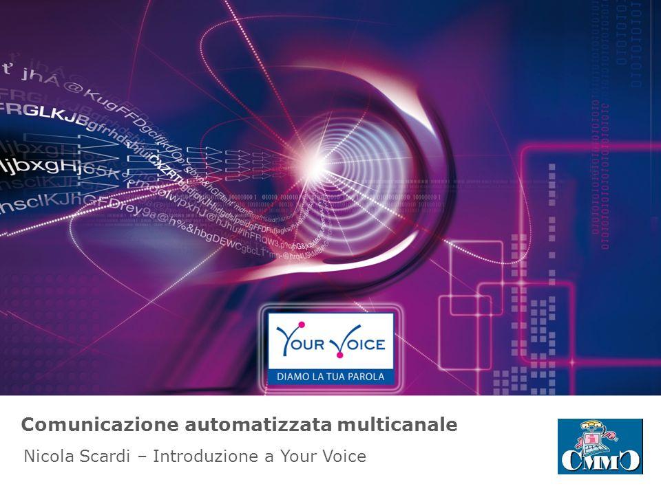 Chi siamo o Your Voice è uno dei principali operatori italiani specializzati nella comunicazione multicanale automatizzata ed interattiva.