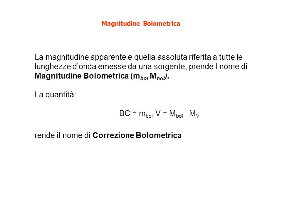 Misura delle Distanze 1.Indicatori geometrici 2.Indicatori fotometrici 3.Indicatori primari 4.Indicatori secondari 5.(Altri indicatori) 6.Legge di Hubble
