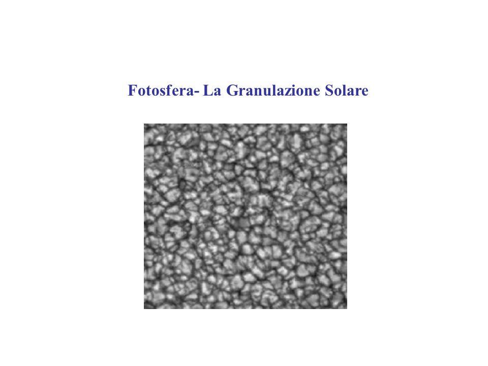 La granulazione Solare rappresenta la parte superiore della zona convettiva del sole.