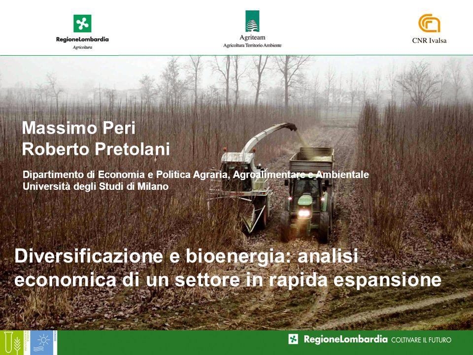 Biomasse legnose da SRF : mercato di riferimento e convenienza economica Premessa Fattori che influenzano la domanda Fattori che influenzano lofferta Metodologia Ipotesi gestionali Risultati Conclusioni