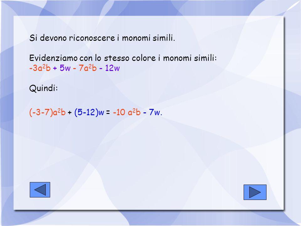 PRODOTTO DI MONOMI Per eseguire il prodotto di monomi, occorre moltiplicare i coefficienti e la parte letterale.