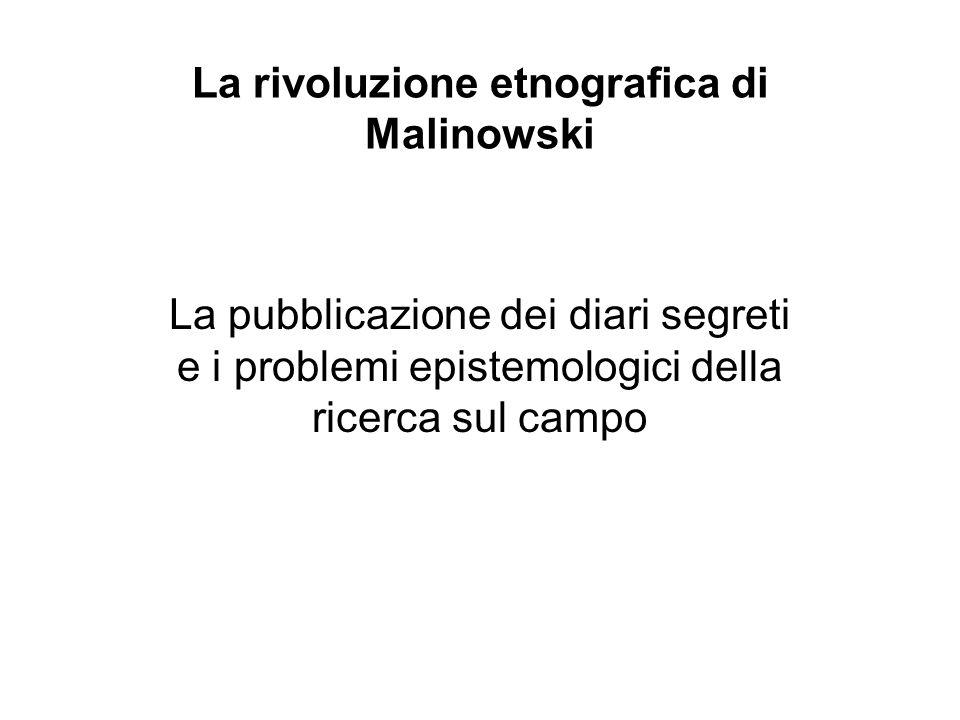 Documentario BBC su Malinowski http://www.youtube.com/watch ?v=f22VsAlOwbc