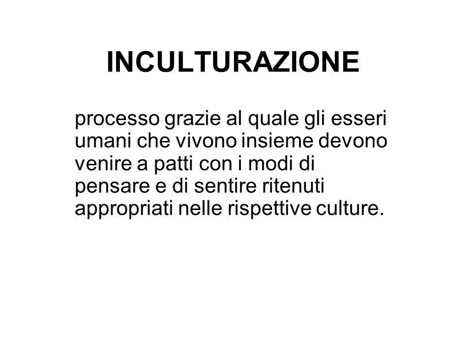 ACCULTURAZIONE termine utilizzato fin dal XIX secolo per descrivere i processi di accomodamento e mutamento nel contatto culturale.