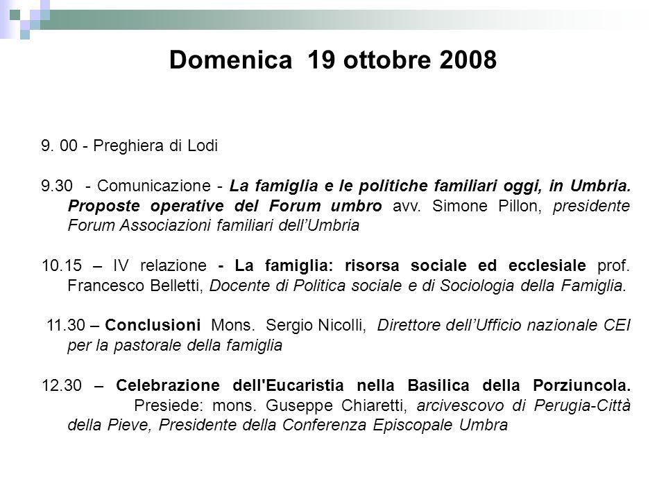 15.30 - Festa (testimonianze, canti, ecc.) sulla Piazza della Basilica o nella la Sala delle Stuoie.