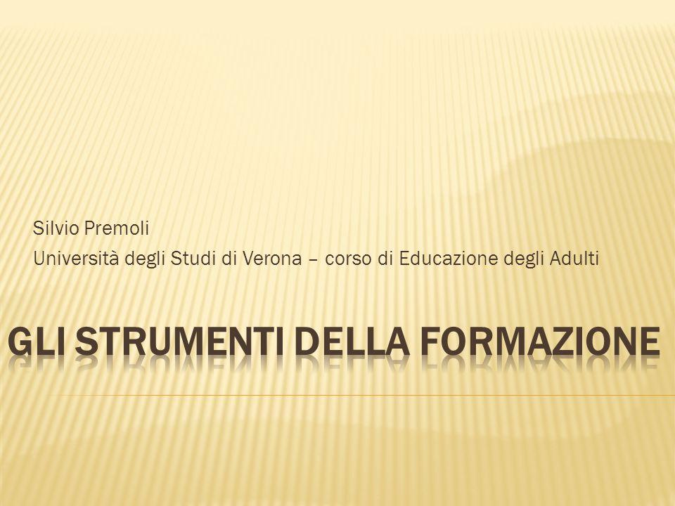 DI TOMMASO B. E TARCHINI V. (2005), Gli strumenti della formazione, in Spunti, 8, pp. 107-148.