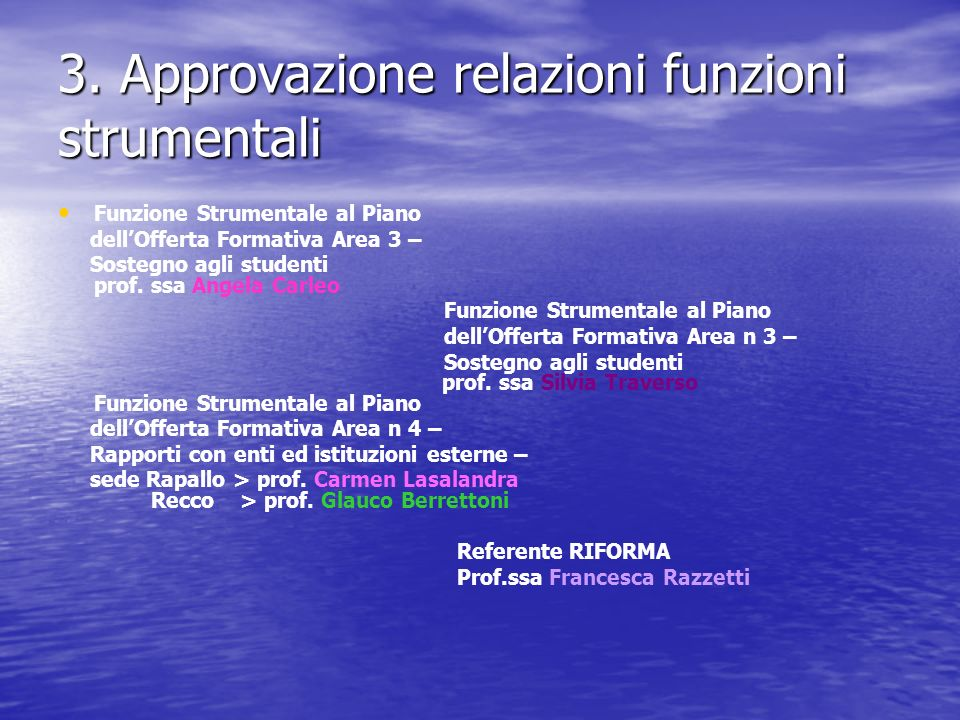 4.Presentazione progetti a.s.