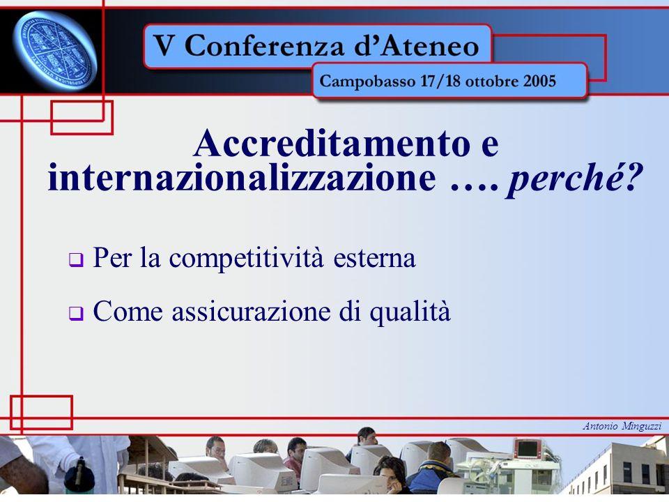 Accreditamento e internazionalizzazione ….quando.