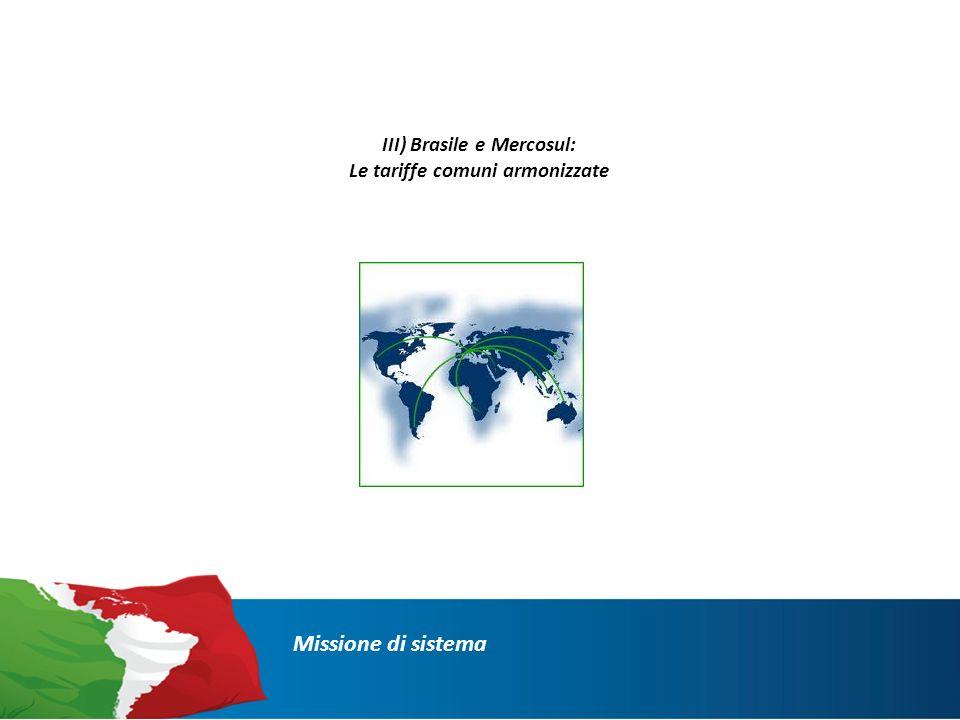 DaziTariffeImposte Missione di sistema : Il sistema doganale brasiliano