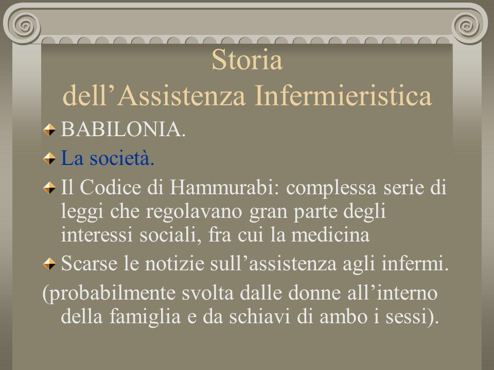 Storia dellAssistenza Infermieristica PALESTINA.