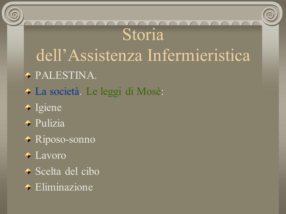 Storia dellAssistenza Infermieristica Regole riguardanti le donne : mestruazioni, gravidanza e parto.