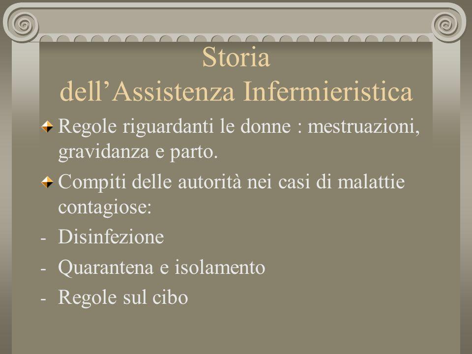 Storia dellAssistenza Infermieristica La donna.