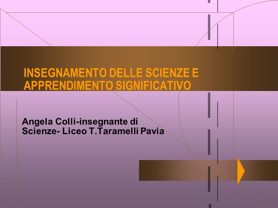 Angela Colli-insegnante di Scienze- Liceo T.Taramelli Pavia