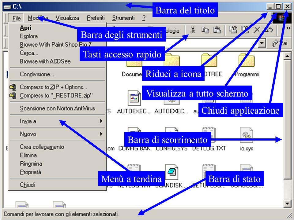 Operazioni con File e Cartelle 1.Creare file o cartelle 2.