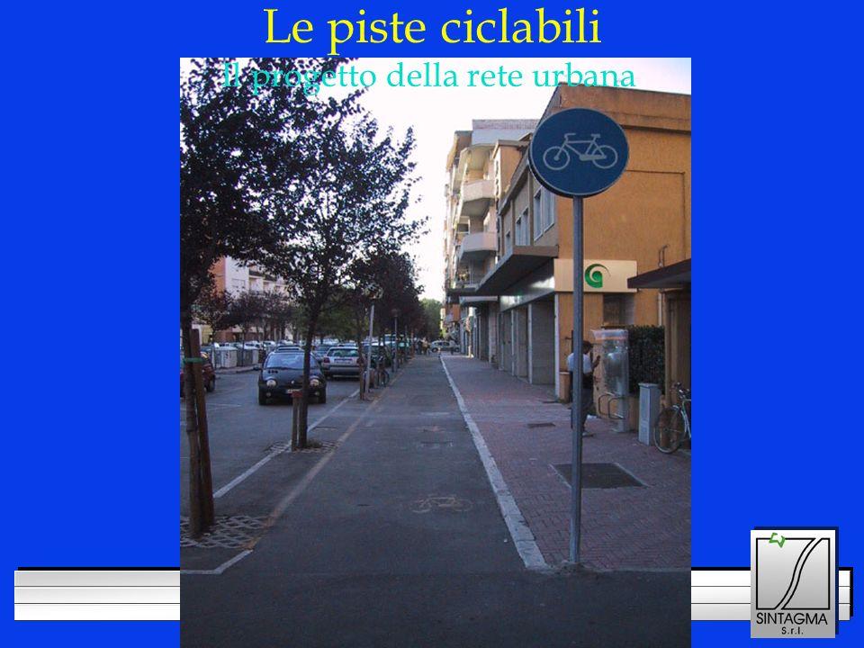 LOGO DELLA SOCIETÀ Le piste ciclabili Il progetto della rete urbana