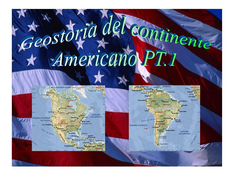 INDICE: Aspetto fisico (slide 3-5) Lantropizzazione del continente americano (slide 6-7) La scoperta dellAmerica (slide 8-9) I nativi americani (slide 10-26) La colonizzazione dellAmerica settentrionale (slide 27-29) La guerra dIndipendenza (slide 30-31) La conquista del West (slide 32-34) Ampliamento dei territori (slide 35-37) La Guerra di Secessione (slide 38-40) Gli Stati Uniti dAmerica, oggi (slide 41)