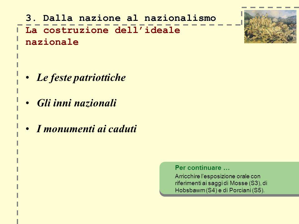 3.Dalla nazione al nazionalismo 3.