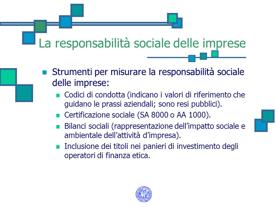 Socially Responsible Investing negli U.S.A.