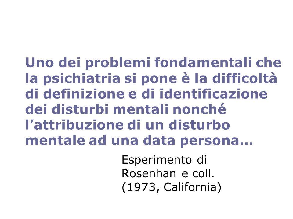 …questo perché non è sempre chiaro quale sia laltro termine di riferimento ovvero il concetto di SALUTE MENTALE LOrganizzazione Mondiale della Salute definisce la salute in genere come uno stato di completo benessere fisico, psichico e sociale e non semplicemente assenza di malattia o infermità