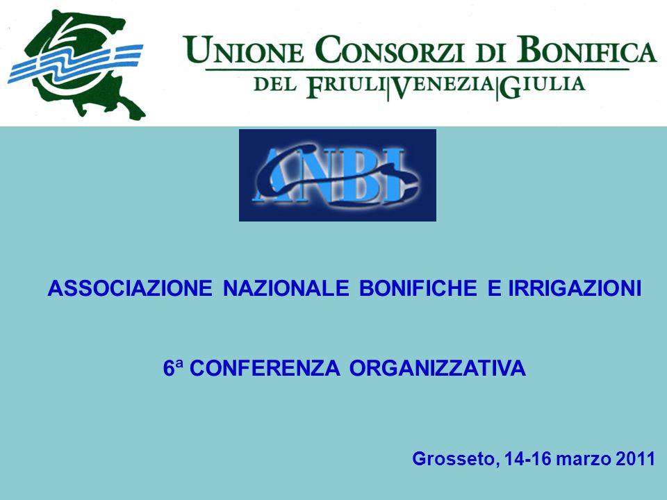 COSTI PER LUSO IRRIGUO DELLE ACQUE Grosseto, 14-16 marzo 2011