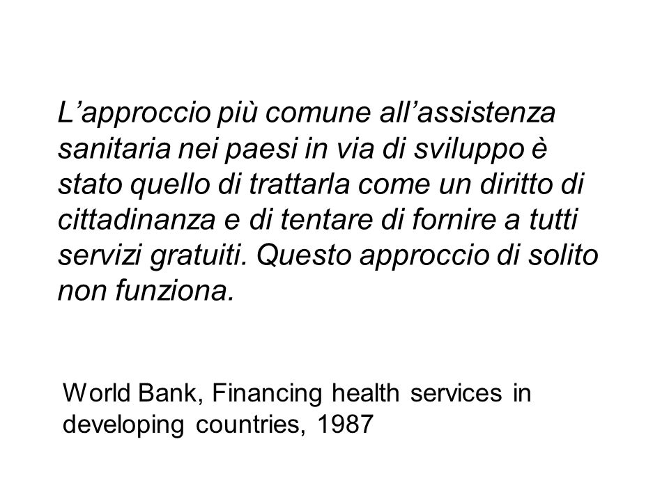 Banca Mondiale.