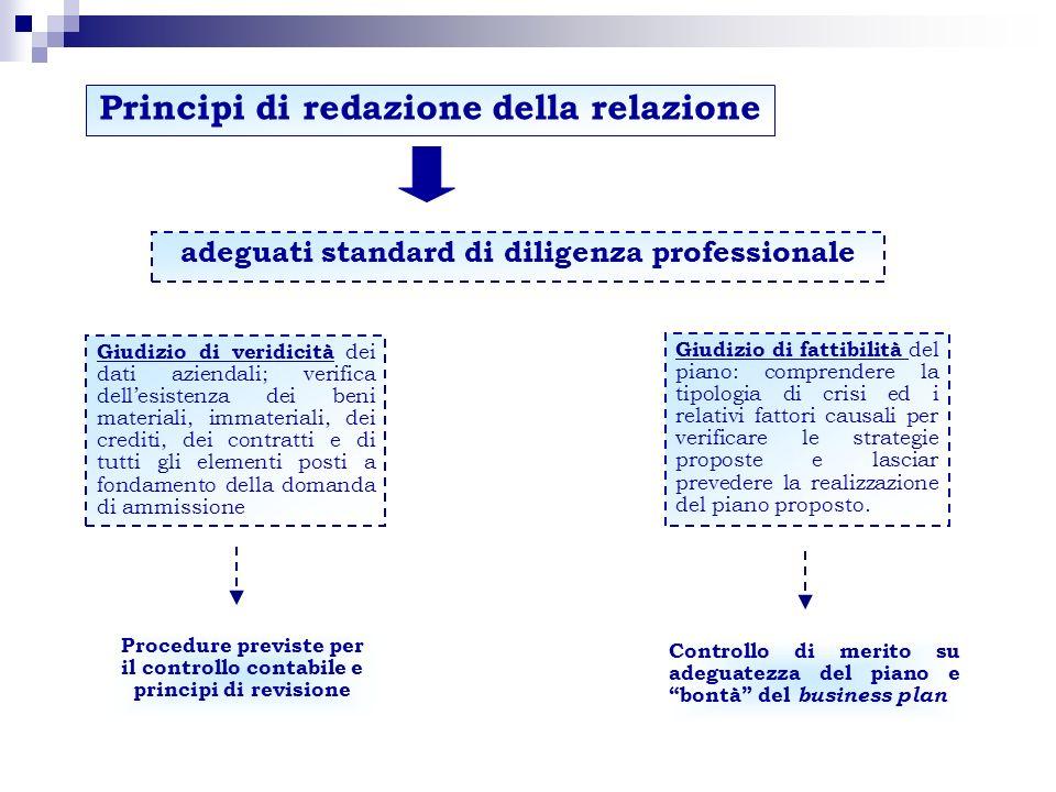 Funzione della relazione Garanzia (quasi) esclusiva per i creditori Elemento di regolarità e di validità della domanda di concordato Supporto per le valutazioni del tribunale