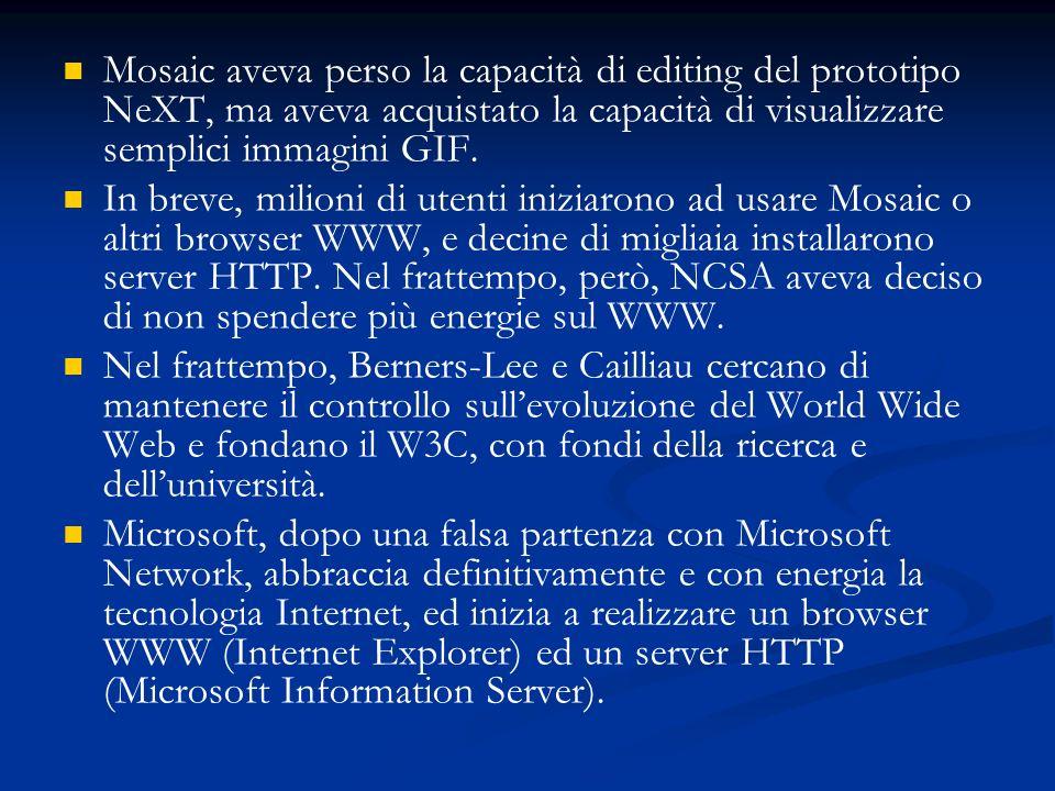 La lotta è senza esclusione di colpi, inclusa lintegrazione di IE in Windows 95, lintegrazione del browser come interfaccia di Windows in Second Edition, la causa di concorrenza sleale allantitrust.