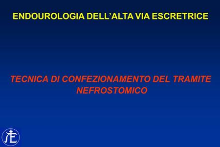 ENDOUROLOGIA DELL'ALTA VIA ESCRETRICE