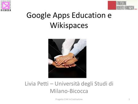 Google Apps Education e Wikispaces