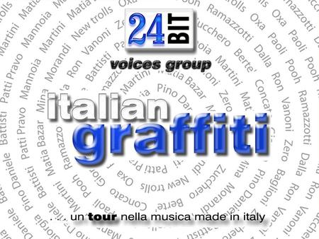 italian graffinti 24BIT voices group