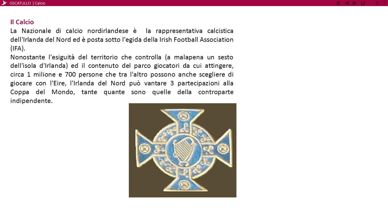 Uno Sport Due Squadre È da notare che il calcio è uno dei pochi sport in cui esistono due diverse nazionali per l Irlanda e l Irlanda del Nord.