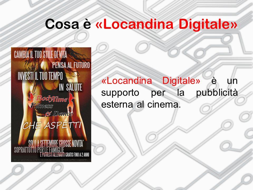Cosa è «Locandina Digitale» «Locandina Digitale» permette di combinare informazioni diverse – in verticale.
