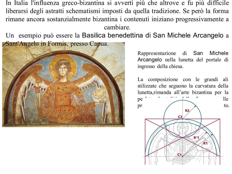 37 Discorso a parte, invece, merita l interno della basilica, affrescato con il maggior ciclo di affreschi campano dell ' XI secolo e, in assoluto, uno dei più significativi e unitari di tutta l arte romanica.