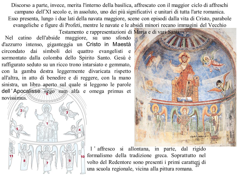 38 Le croci dipinte Rappresentano Cristo in croce ma, a differenza delle precedenti raffigurazioni bizantine e paleocristiane, l evento è isolato dal contesto della Crocifissione.