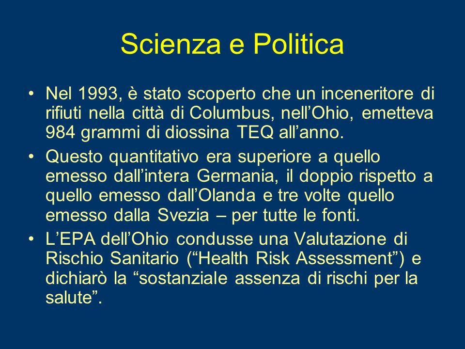 Valutazioni del Rischio Sanitario (HRA) Le loro Valutazioni di Rischio Sanitario (HRA) sono solitamente esercizi pseudo- scientifici finalizzati a razionalizzare decisioni politiche già prese .