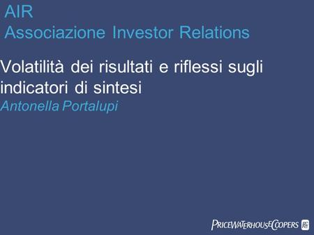 AIR Associazione Investor Relations