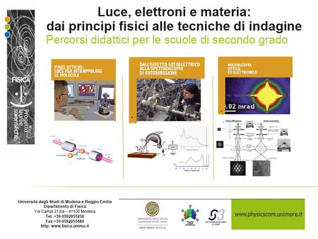 "Obbiettivi del Progetto ""Lauree Scientifiche"":"