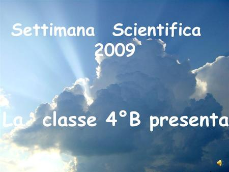 Settimana Scientifica
