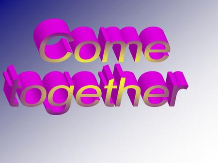 Come Together is the song that opens the album Abbey Road Beatles, released in September 1969. Despite being signed as usual by Lennon / McCartney, is.