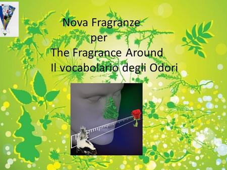 By Massimo Novati, senior perfumer Nova Fragranze srl Fragranze e profumi per 07 NOVEMBRE 2012 Novafragranze per Pettenon Cosmetics Nova Fragranze per.