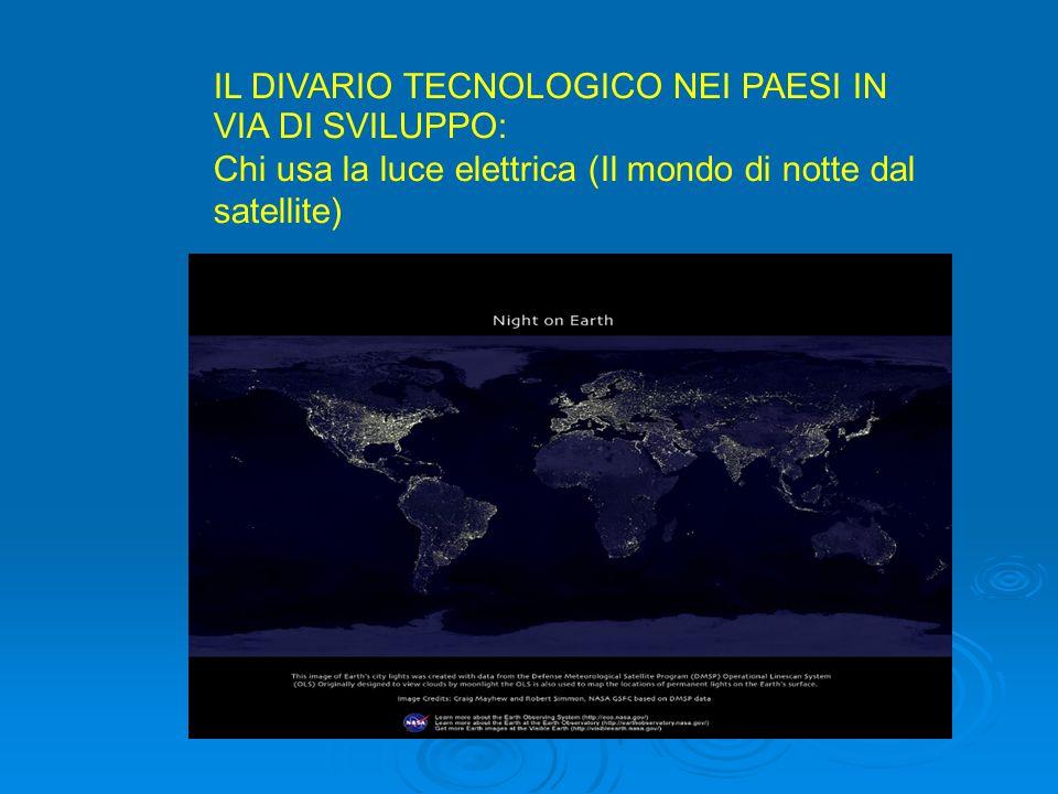 IL DIVARIO TECNOLOGICO NEI PAESI IN VIA DI SVILUPPO: …..