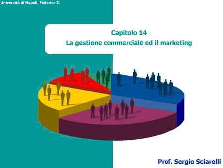 La gestione commerciale ed il marketing