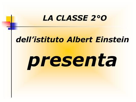 dell'istituto Albert Einstein