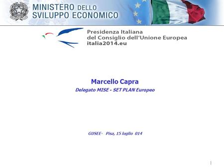 SET Plan europeo Il SET (Strategic Energy Technology) Plan ha riportato l'innovazione tecnologica al centro delle strategie per ridurre le emissioni e.